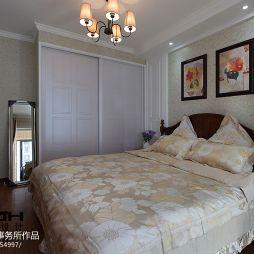 美式卧室衣柜设计图片