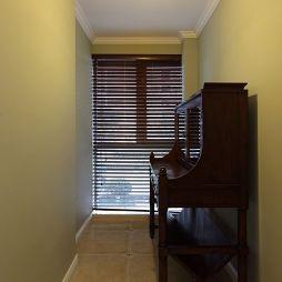 休闲美式复式楼过道窗户装修效果图大全
