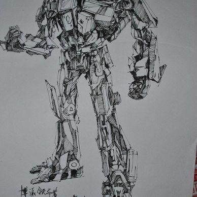 手绘方案草图表现_1023936