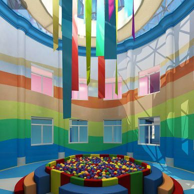 教育机构幼儿园活动场所设计