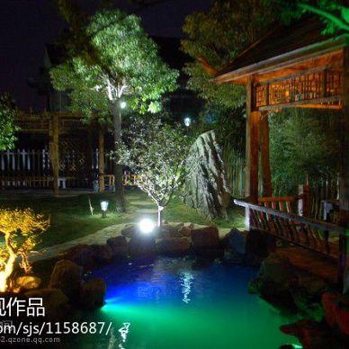 徐州汉泉山庄的庭院_1027866