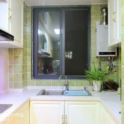 美式家居厨房窗户