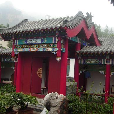 浓郁的中国传统风格四合院施工后实景_1030047