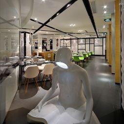 中式中餐馆大堂吊顶装修效果图