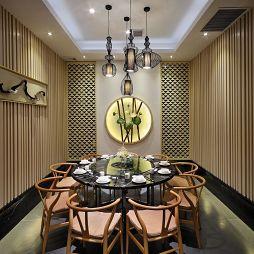 中式中餐馆包厢装修图片