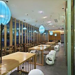 中式风格中餐厅吊顶装修效果图
