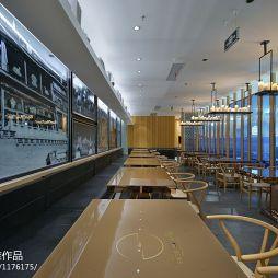 中式风格中餐厅背景墙装修图片