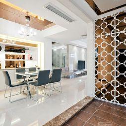 现代风格室内设计休闲区隔断图片