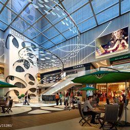 现代风格购物广场设计