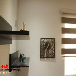 哈尔滨保利清华颐园中式风格设计案例_1042850