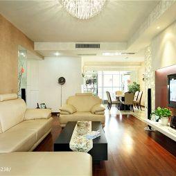 现代简约风最新客厅装修效果图