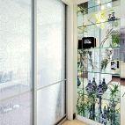 《祥云如花》现代阳台壁橱装修效果图