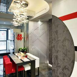 现代风格餐厅吊顶吊灯设计