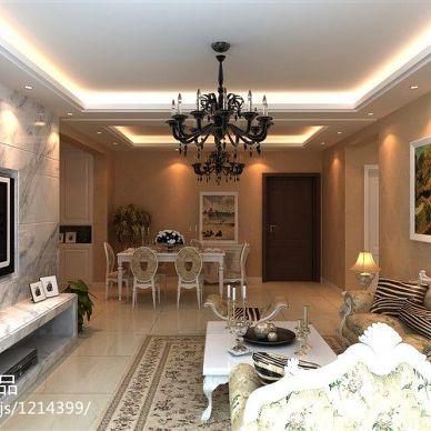 现代家装室内设计效果图