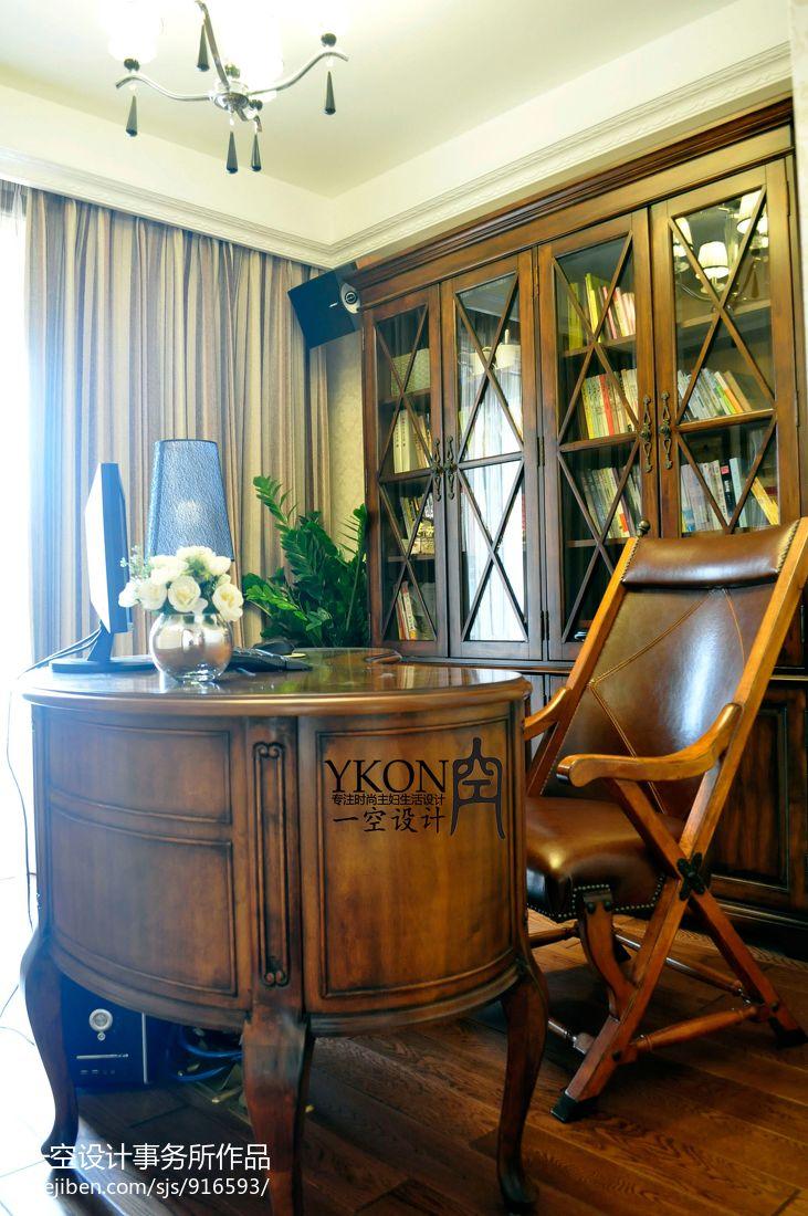 欧式风格家装书房装修效果图大全