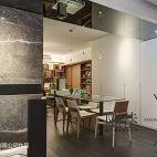 臺北中和連勝街劉邸_现代餐厅门头装修设计效果图