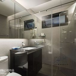 现代卫浴淋浴房装修设计效果图