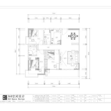 茂名恒福苑伍生新房装修设计方案_1081172