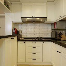 美式小清新厨房装修效果图