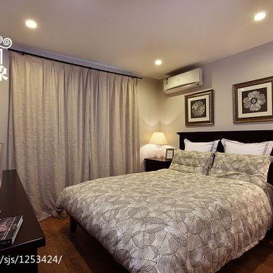 恬静美式卧室装修效果图