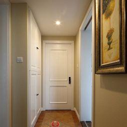 美式三居室玄关鞋柜装修