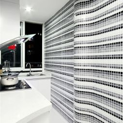 现代风格家装厨房装修设计效果图