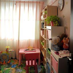 整体家装现代风格儿童房家具装修设计效果图