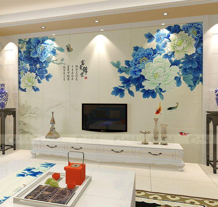 每日资讯_瓷砖电视背景墙_1122632 – 设计本装修效果图