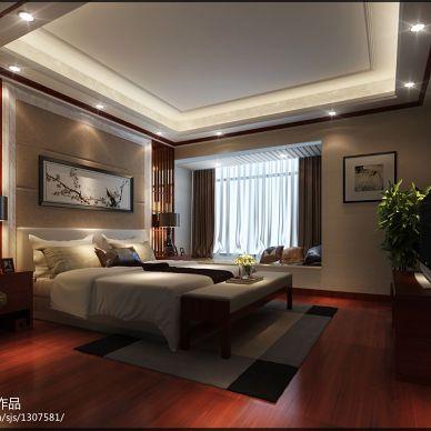 潮州-嘉和名苑卧室装修效果图