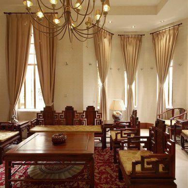 中式风格 客厅装修效果图
