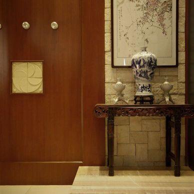 中式风格玄关装修效果图片