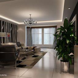 现代风格 客厅玄关柜装修效果图