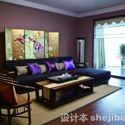 中式古典装修样板房效果图推荐