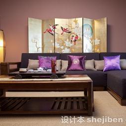 中式古典装修样板房效果图欣赏