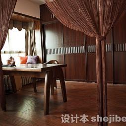 中式古典装修样板房效果图观赏