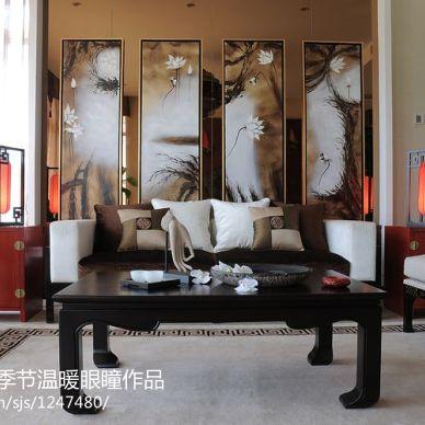 中国院子新中式别墅装修装修效果图