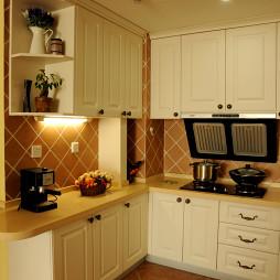 厨房柜子装修效果图片