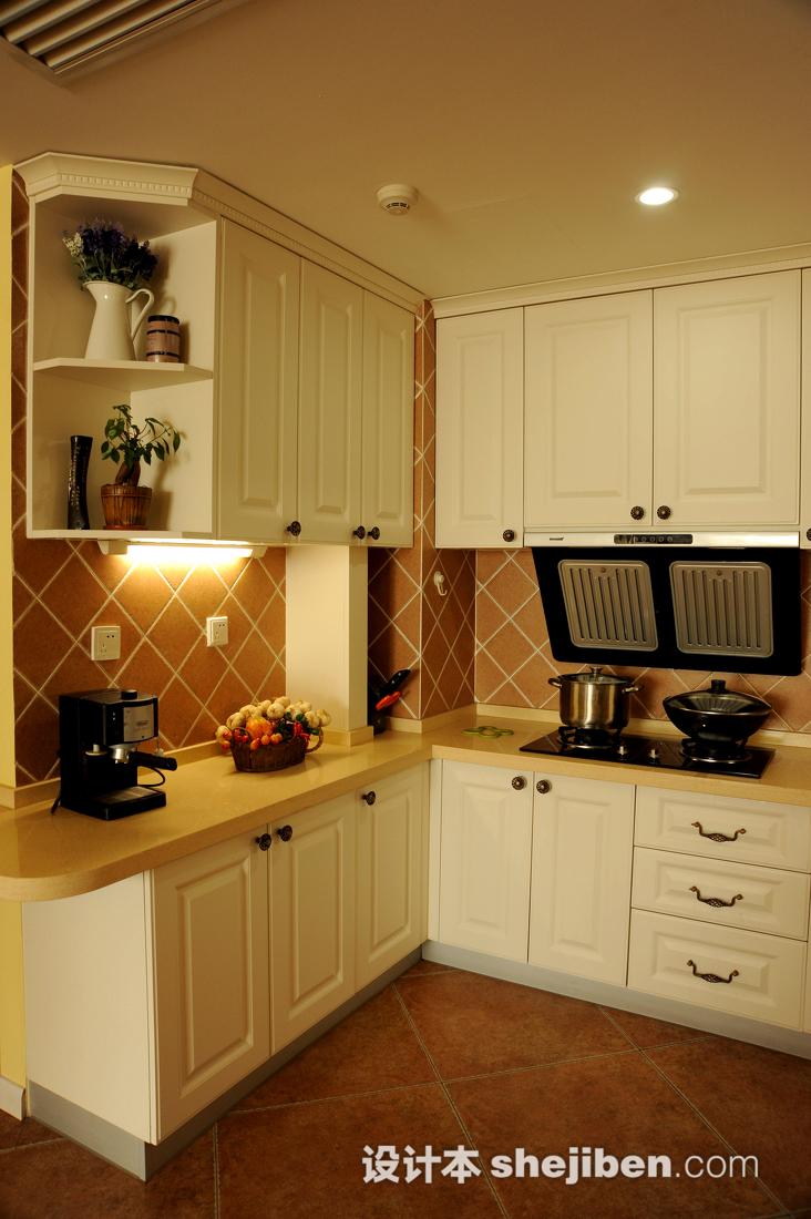 生活资讯_厨房柜子装修效果图片 – 设计本装修效果图