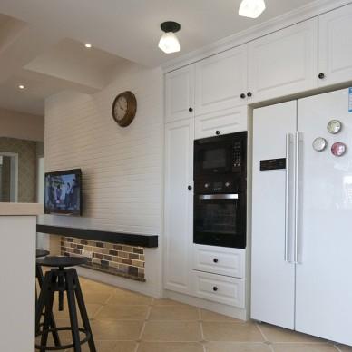 美式厨房隔断装修效果图