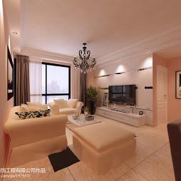 现代风格客厅电视墙设计装修效果图片