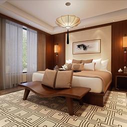 中式古典卧室装修