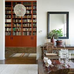 客厅书房一体家居装修设计