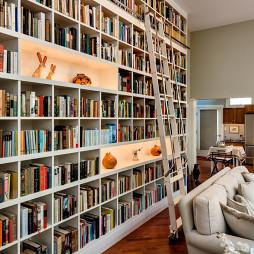 客厅书房一体装修设计