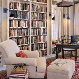 客厅书架家装效果图