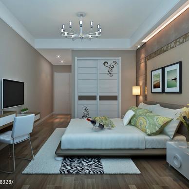 休闲现代卧室时尚灯具装修设计效果图