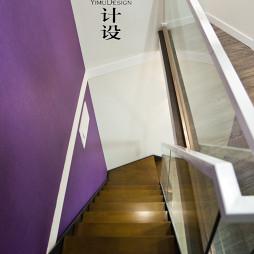 混搭楼梯扶手装修效果图