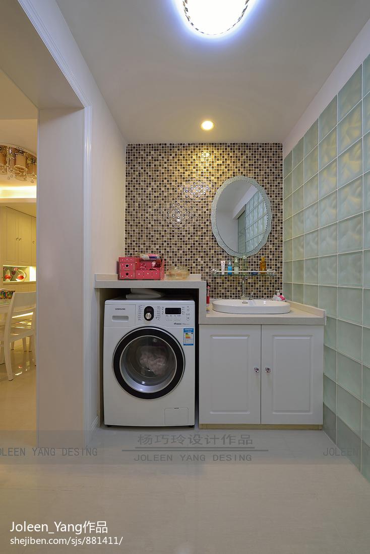 衣帽间_洗衣房设计图片 – 设计本装修效果图