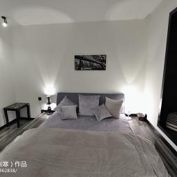 卧室床头背景墙装修设计效果图