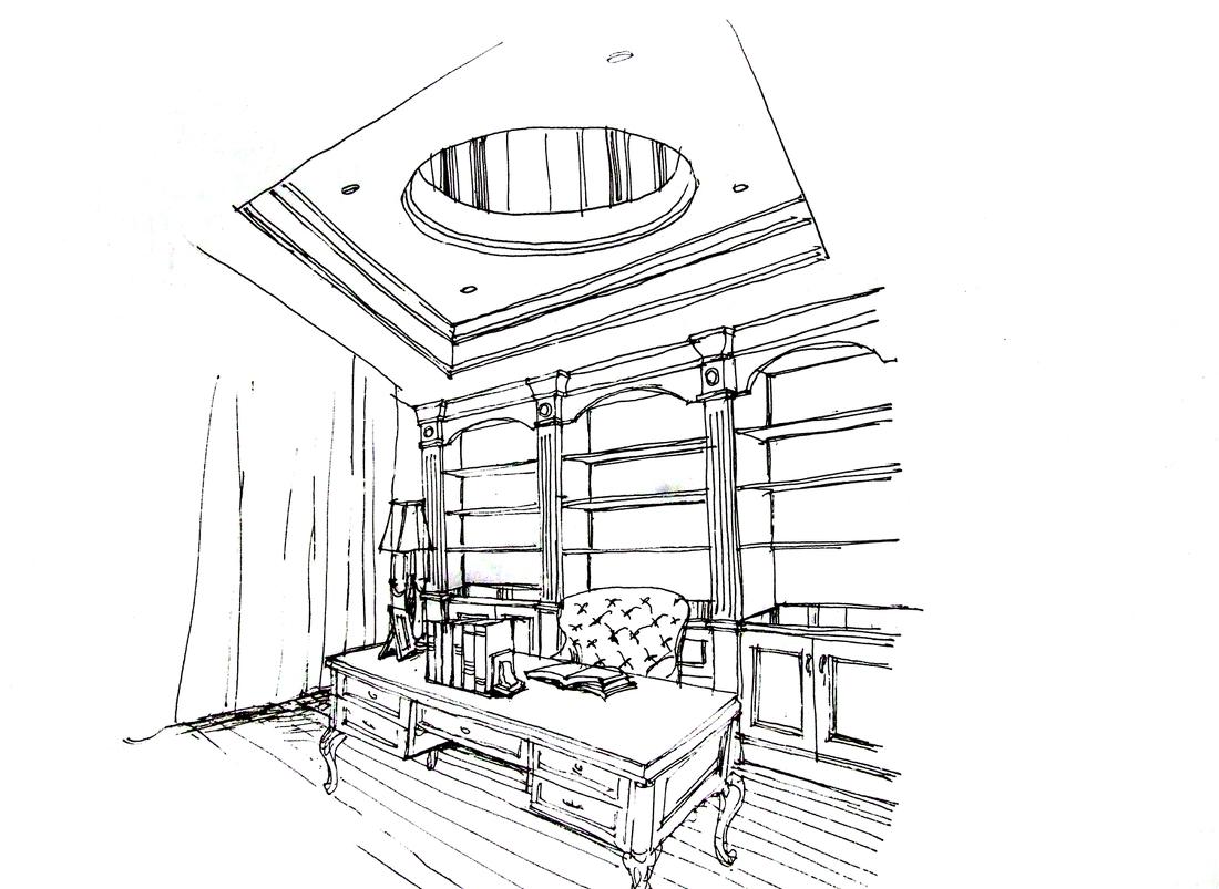 家具手绘_家具手绘效果图欣赏 – 设计本装修效果图