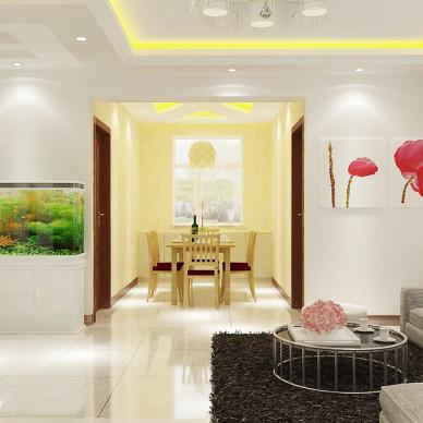 时尚家居现代客厅装修效果图